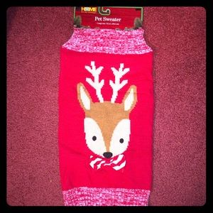 NEW Dog Christmas Holiday Sweater Size Large